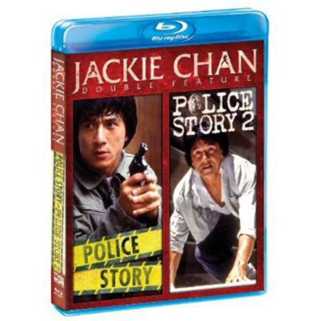 Jackie Chan Double Feature  Police Story   Police Story 2  Blu Ray   Widescreen