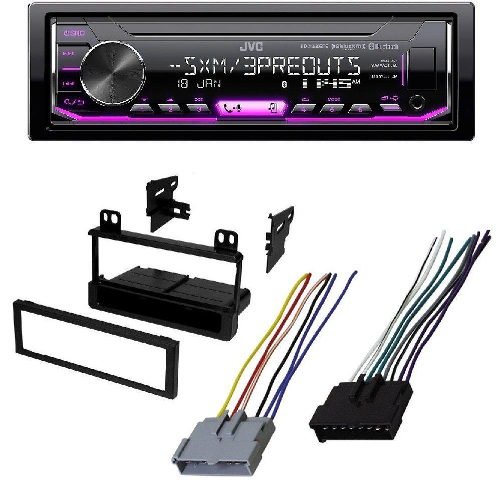 JVC KD-X350BTS 1-Din Car Digital Media Bluetooth Receiver  USB/iPhone/SiriusXM FORD 1995-2008 RANGER CAR STEREO DASH INSTALL MOUNTING KIT  WIRE HARNESS RADIO ...