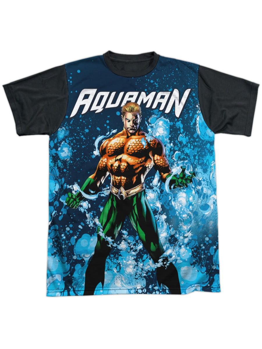 Jla Flash #1 Premium Adult Slim Fit T-Shirt