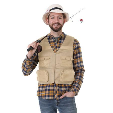 Men's Fisherman Kit Costume (Fish Man Costume)
