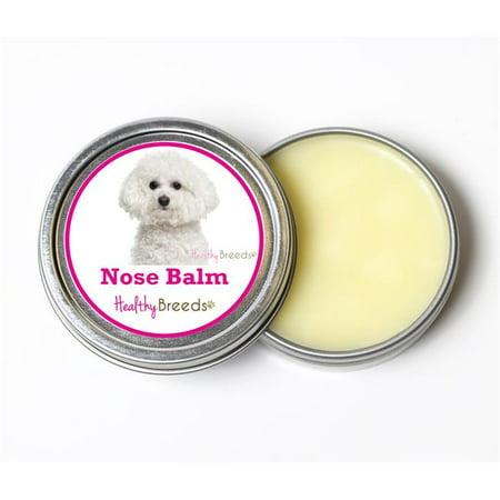 Healthy Breeds 840235191872 2 oz Bichon Frise Dog Nose Balm ()