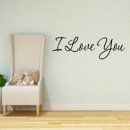 Halloween Quotes For Couples (VWAQ I Love You Wall Decal Quotes Home Decor Sayings Wall Decals Wife Husband Couples Love)