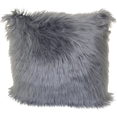 Better Homes & Gardens Angora Decorative Throw Pillow, 18