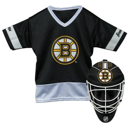 Franklin Sports NHL Boston Bruins Youth Team Uniform Set