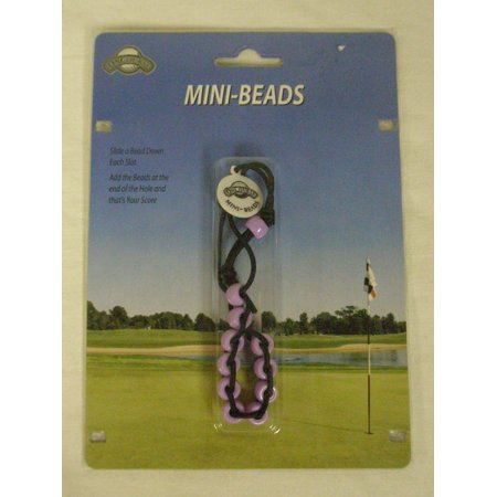 On Course Mini Beads Slotted Shot Counter (Purple) Score Keeper Golf NEW ()