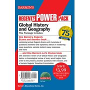 Regents Global History and Geography Power Pack : Let's Review: Global History and Geography + Regents Exams and Answers: Global History and Geography