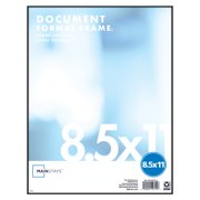 Mainstays 8.5x11 Document Format Frame, Black