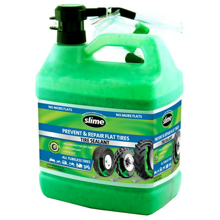 Slime Prevent and Repair Tire Sealant - 1 Gallon (Value Size for All Tires) –