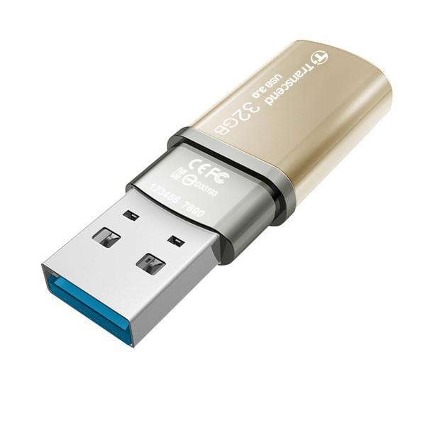 32GB JETFLASH 820 FLASH DRIVE USB 3.0 GOLD