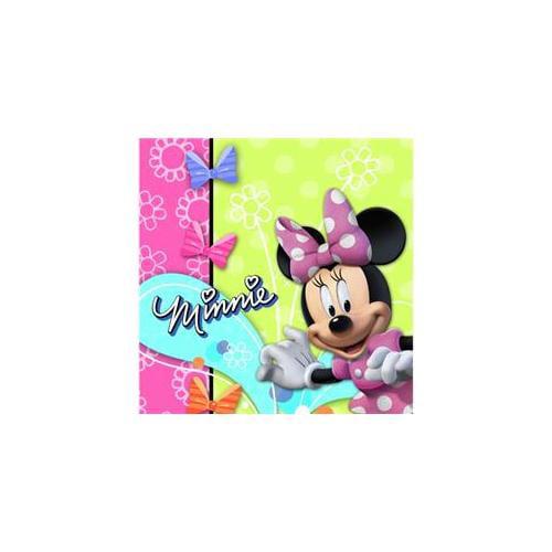 Hallmark 221969 Disney Minnie Mouse Bow-tique Lunch Napkins