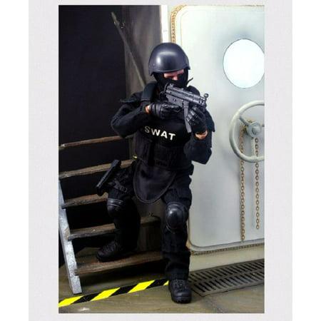 Swat Team Member Ultra Detailed Action Figure - Swat Team Helmet