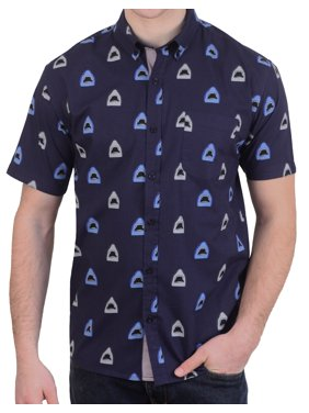 10e0c46559 Product Image Alpha Beta Cotton Shark Mouth Hawaiian Shirt. Alpha Beta  Clothing