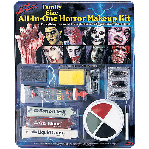 All-in-One Horror Kit Halloween Makeup