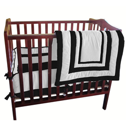 Baby Doll BabyDoll Double Hotel Miniature 3-piece Crib Bedding Set