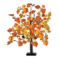 Lighted Tabletop Maple Tree