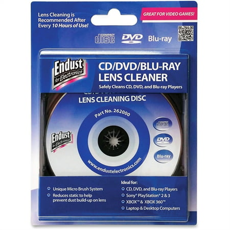 Endust CD/DVD/ BR Lens Cleaner 262000 Cd Rom Cleaner