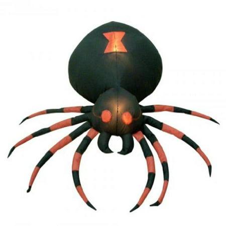 Halloween Meatloaf Foot (4 Foot Wide Halloween Inflatable Black Spider Yard)