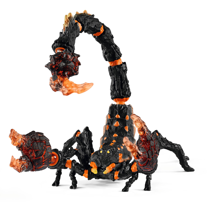 Schleich, Eldrador Creatures, Lava Scorpion Toy Figurine