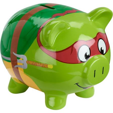Ninja Turtle Piggy Bank Walmartcom
