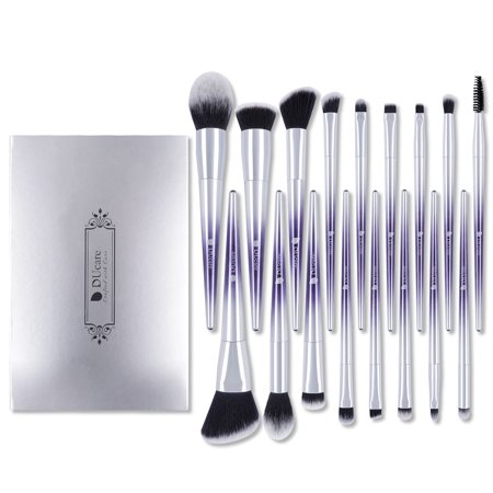 DUcare Makeup Brush Set 17Pcs Professional EyeShadow Foundation Powder Blending (Best Eyeshadow Blending Brush)
