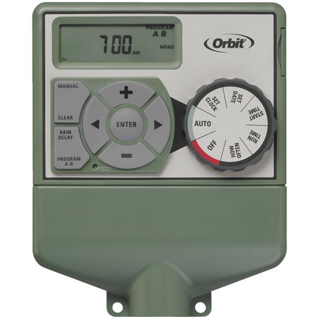 Orbit WaterMaster Dual Program Indoor Mount Sprinkler Timer