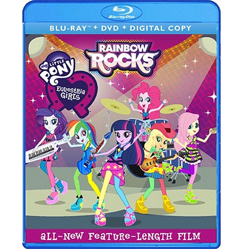 My Little Pony: Equestria Girls - Rainbow Rocks (Blu-ray + DVD + Digital HD)