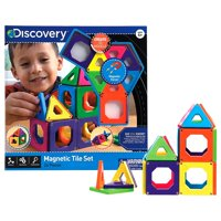 Discovery Kids Magnetic Tiles Set