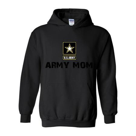 US Army Hoodie U.S. Army Star Army Mom  Women's Hoodies Sweater