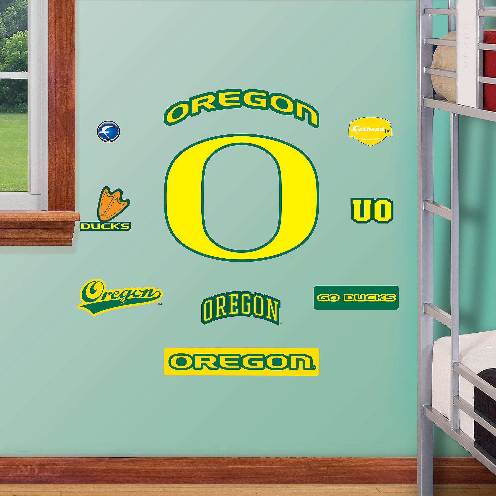 Oregon Jr. Logo Sheet