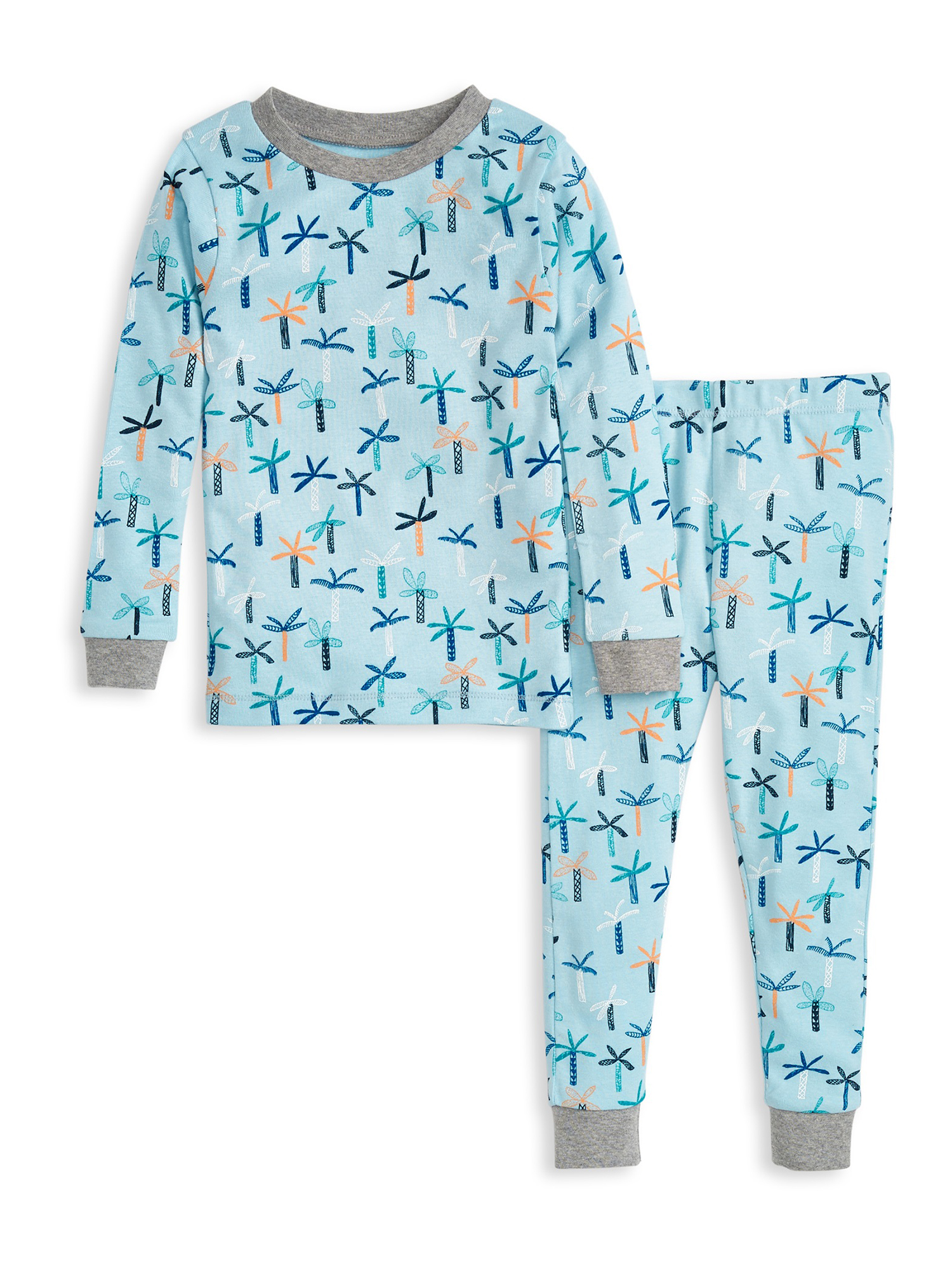 Burt/'s Bees Baby or Toddler Boy or Girl Organic Cotton 2Pc Longsleeve Pajama Set