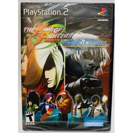 King of Fighters 2002 -2003 - PlayStation 2 By (SNK) 2003 Alcs Game 7