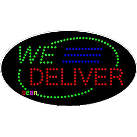 Deliver Neon Sign - 15