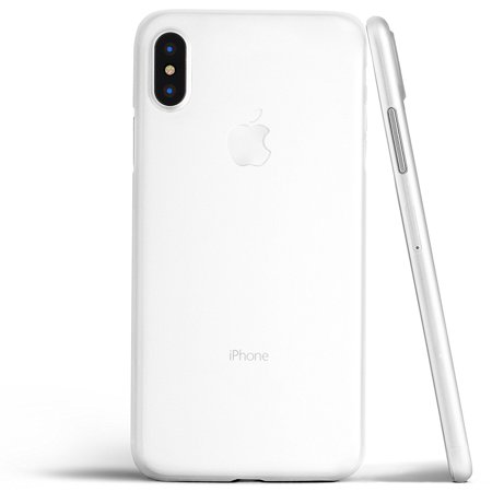 super popular 9ef22 9a3f3 Thin iPhone X Case, Thinnest Cover Ultra Slim Minimal - for Apple iPhone X  (2017) - totallee (Frosted Clear)