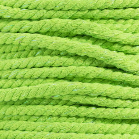 Twin Rope - Super Soft 3 Strand Twisted Cotton Rope - Multiple Colors to Choose from in Various Diameters and Lengths