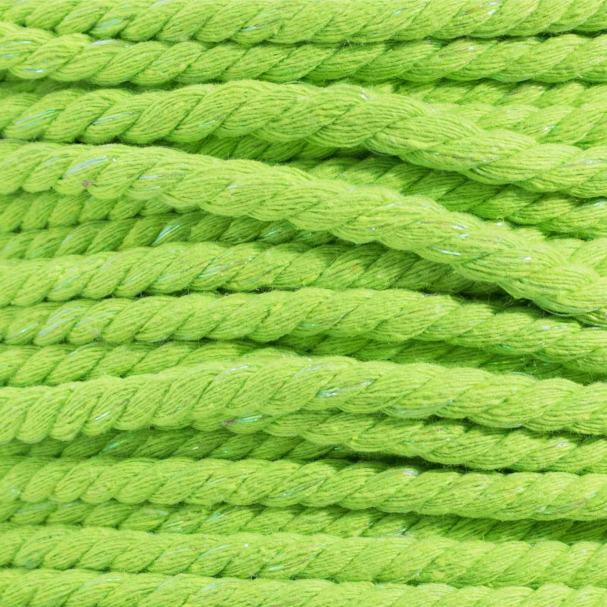 Multiple Colors to Choose from in Various Diameters and Lengths Super Soft 3 Strand Twisted Cotton Rope