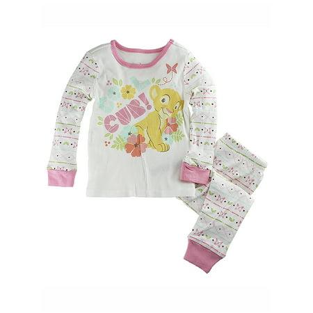 "Disney Store Baby Girls Nala - The Lion King - "" Cool Cub!"" PJ PALS Pajama"