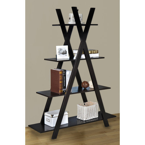 Jeco Inc. 4 Tier Kross 59'' Accent Shelves