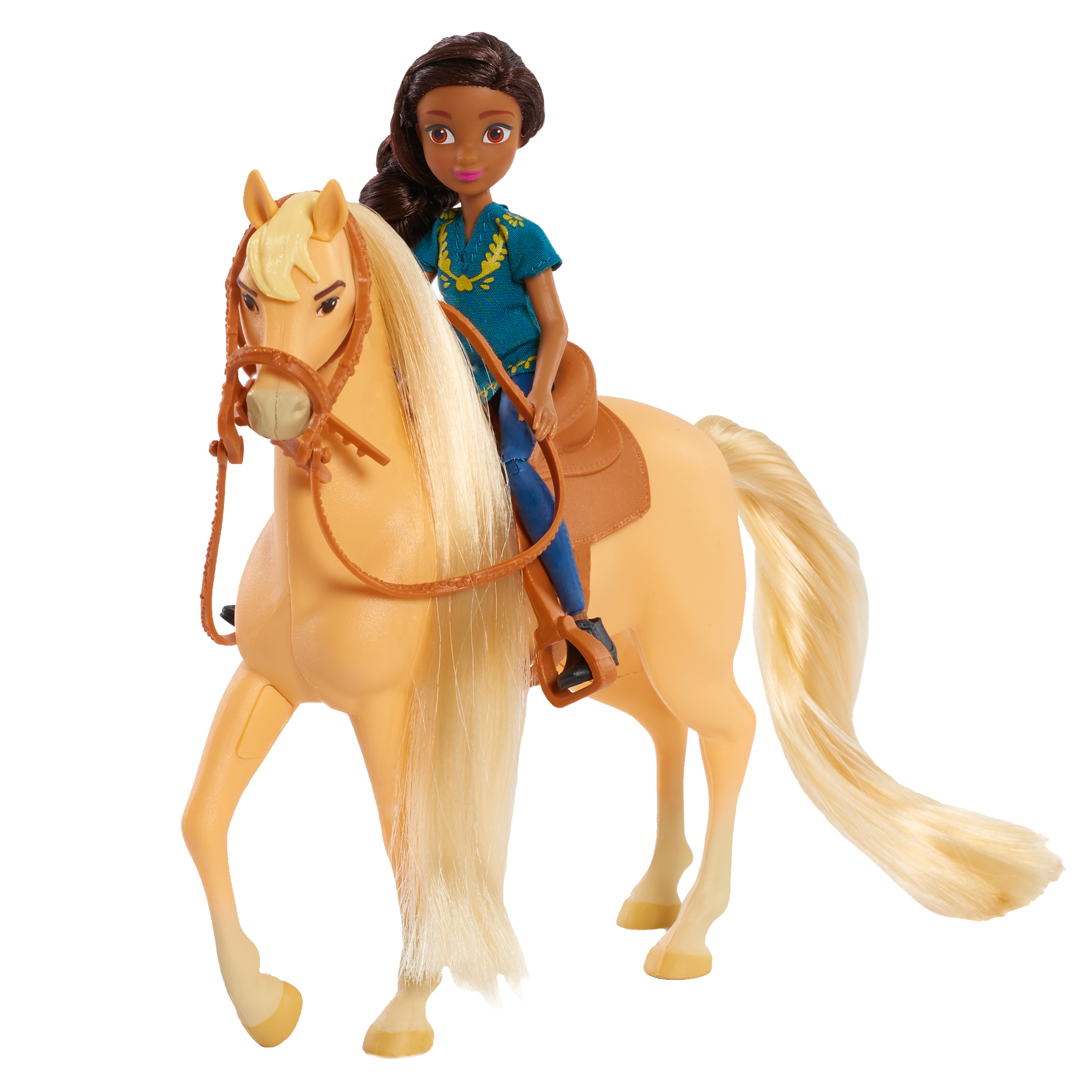 Spirit Riding Free Small Doll and Horse Set - Pru & Chica Linda
