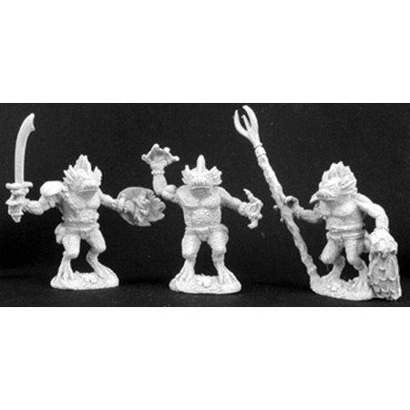 3 Channel Miniature - Reaper Miniatures Gogglers (3 Pieces) 02977 Dark Heaven Legends Unpainted Metal
