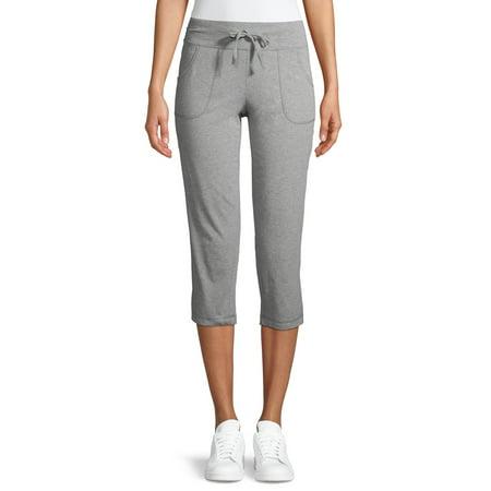 Athletic Work Women's Athleisure Knit Capri Pants Review Mercury Capri