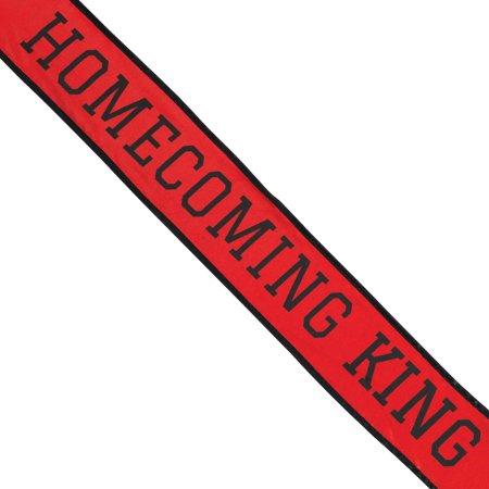 Shindigz School Homecoming King Sash - Homecoming Court Sashes