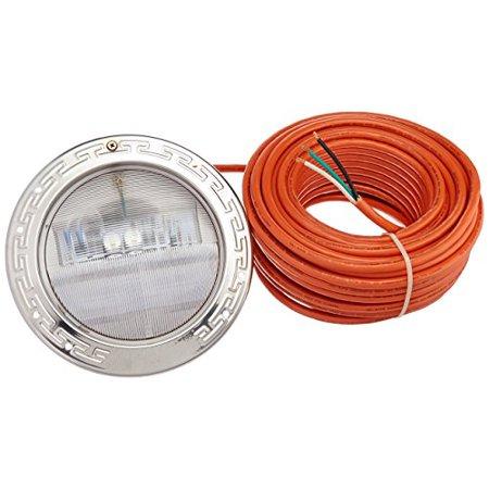 Intellibrite 5g White Underwater Led Pool Light 12 Volt 100 Foot Cord 300 Watt Equivalent