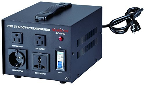 STEP UP /& DOWN POWER TRANSFORMER 1000W STU-1000 NEW Best