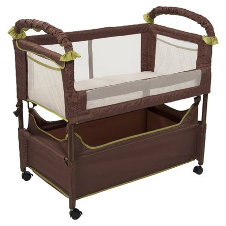 Arm's Reach Clear-Vue Co-Sleeper  Bedside Bassinet