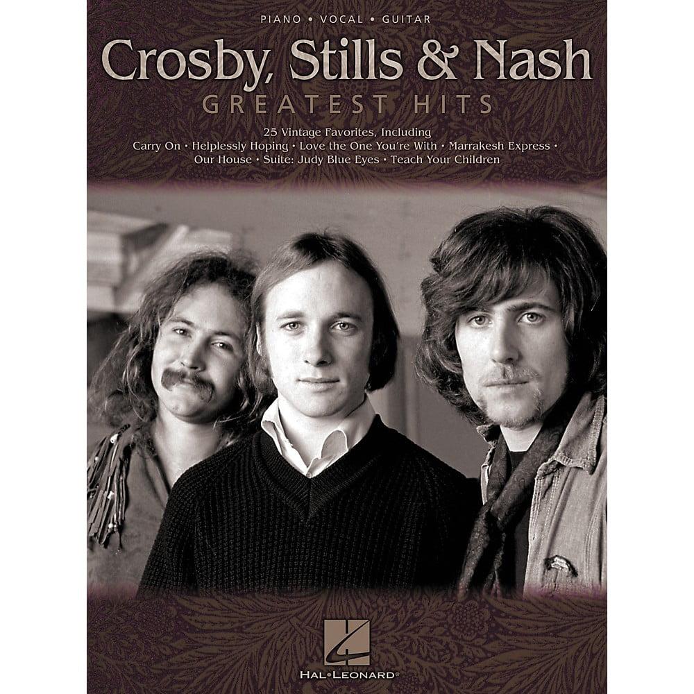 Hal Leonard Crosby Stils & Nash - Greatest Hits Piano, Vocal, Guitar Songbook