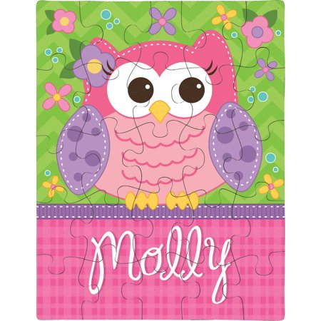 Personalized Sweet Owl Puzzle