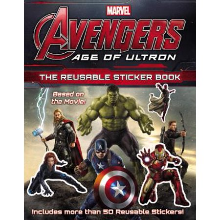 Marvel's Avengers: Age of Ultron: The Reusable Sticker Book - Vision Age Of Ultron