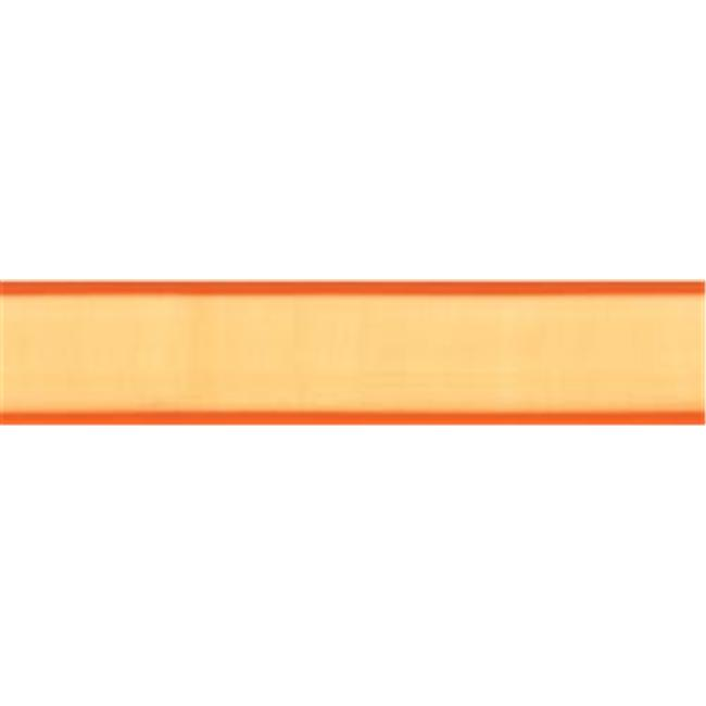 Offray 309136 Dancer Ribbon 5-16 inch 3 Yards-Torrid Orange