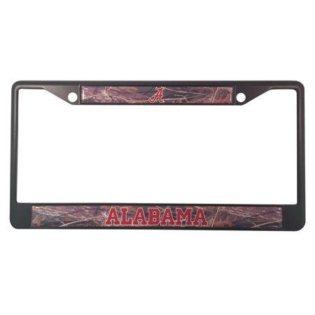 University of Alabama Crimson Tide Black Camo License Plate Frame ...