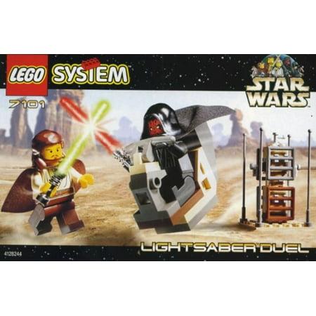 Star Wars The Phantom Menace Lightsaber Duel Set LEGO 7101